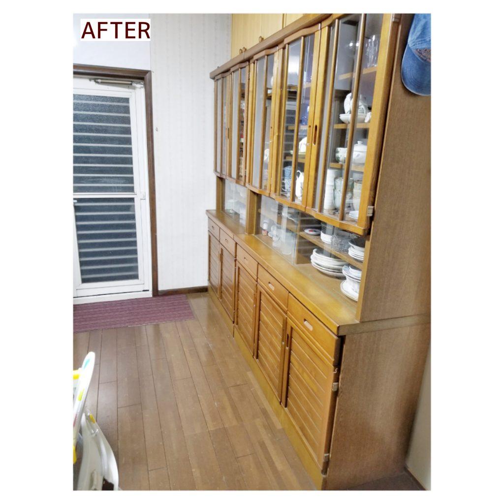 食器棚収納 施工事例