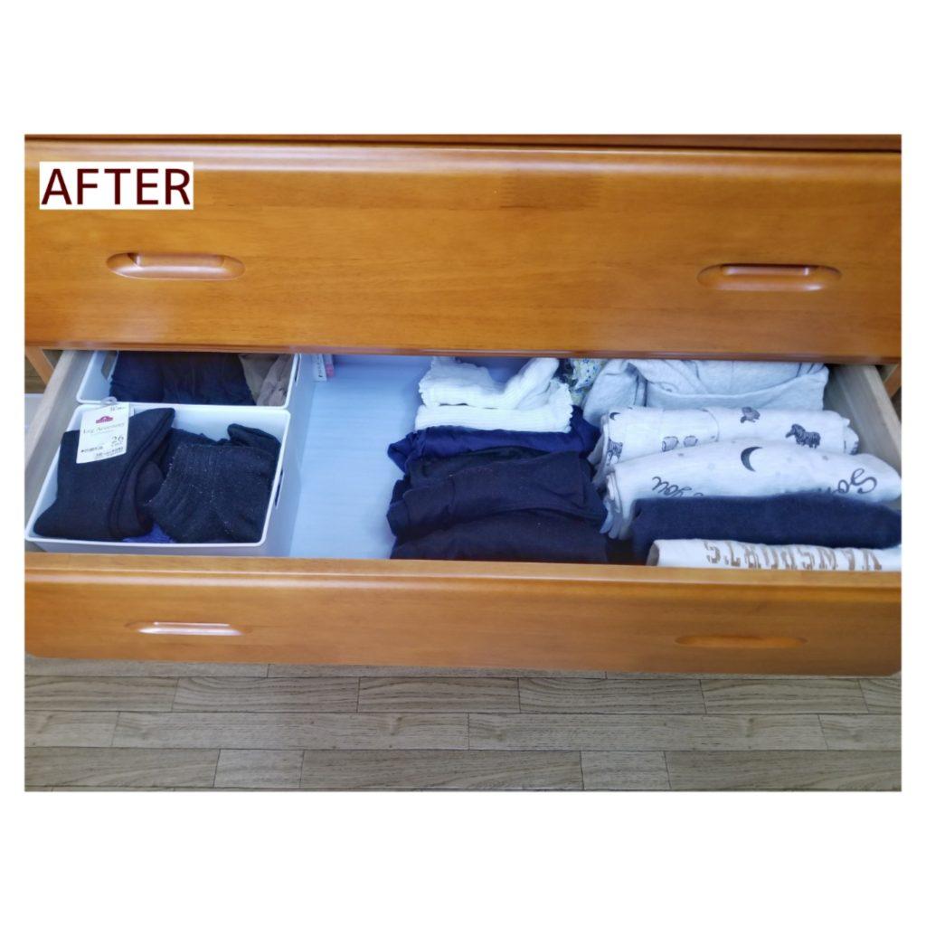 衣類収納 施工事例