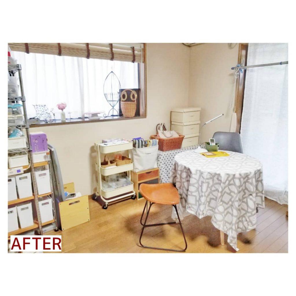 施工事例 手芸部屋 整理収納