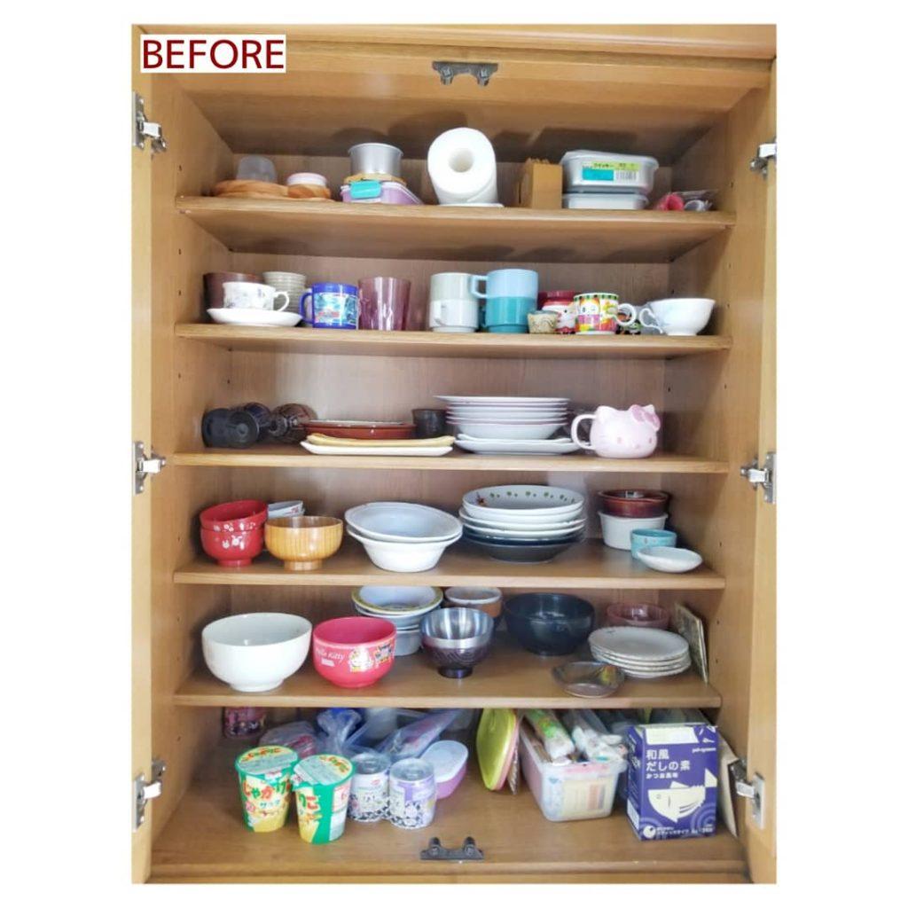 食器棚 整理収納
